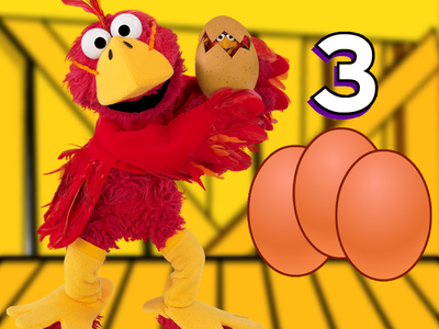 EggCounting Elmo helps students develop number core