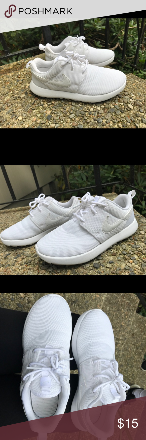 quality design 19099 69f6f Nike Roshe One Boys' Grade School They are all white roshes ...