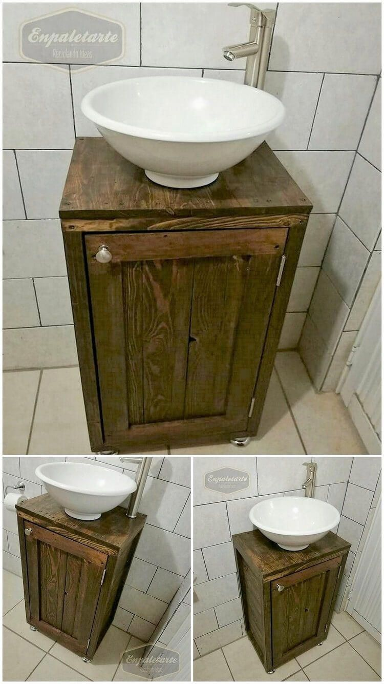 Bathroom Sink Ideas Small Bathroom Sink Can Be A Focal Point Of Any Bathroom As It S Often One Of Small Bathroom Sinks Pallet Bathroom Bathroom Sink Design