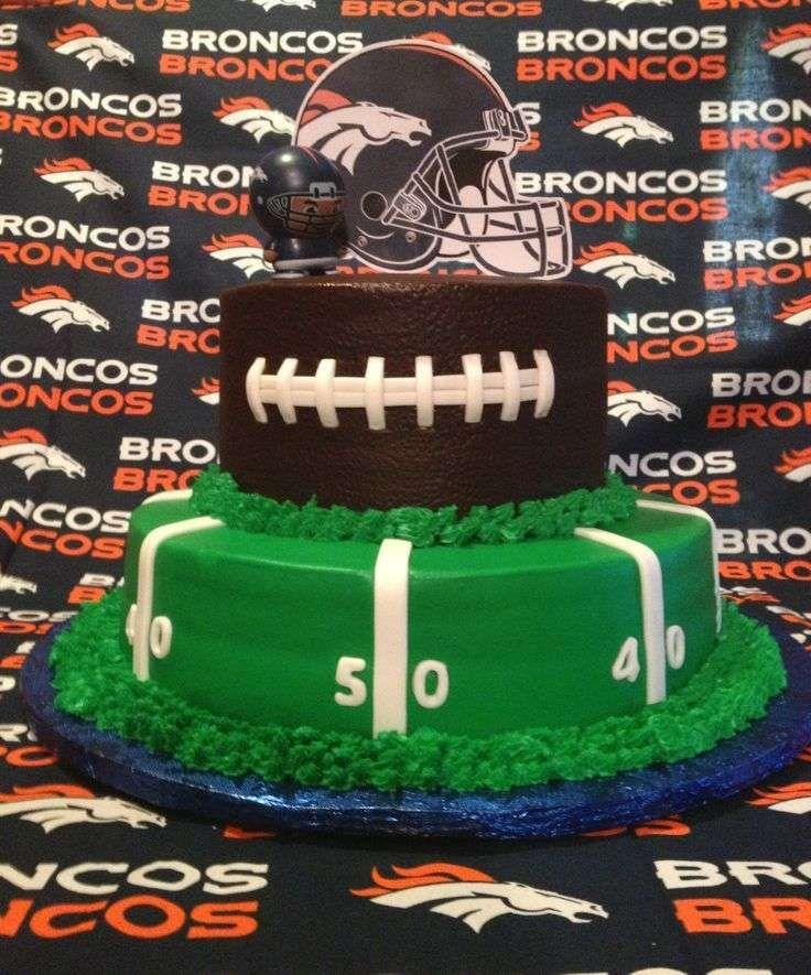 Football Seattle Seahawks Denver Broncos Birthday Party