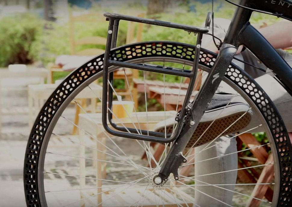 3d Printed Airless Bike Tires Deliver A Smooth Ride Bicycle