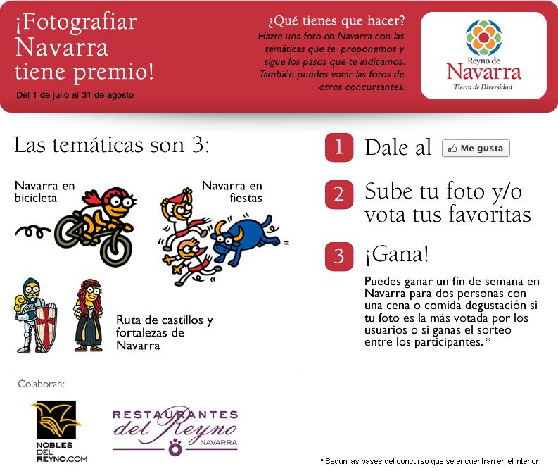 Gana un fin de semana en Navarra para 2