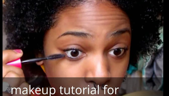 How to makeup tutorial for black women beginners with easy