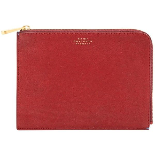 Smythson Pre-owned - Leather clutch bag FmoyqQ