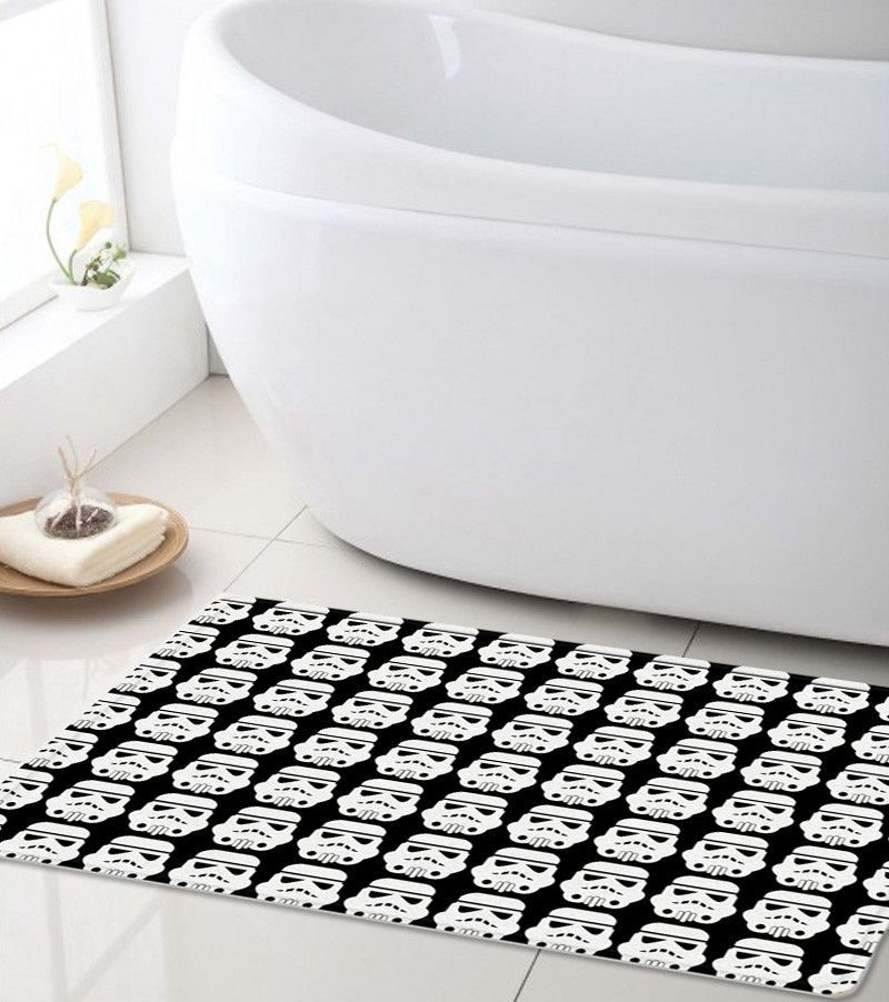 Star Wars Bath Mat Stormtrooper Super Soft Bathroom Perfect For Kids And You Can Customize It With A Name If Want To