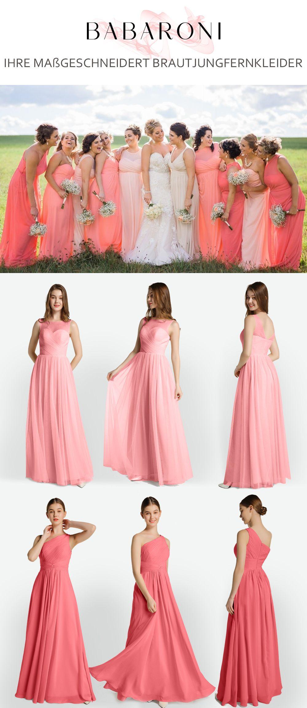 Brautjungfernkleider In 2020 Brautjungfernkleid Atemberaubende Kleider Gunstige Brautjungfernkleider