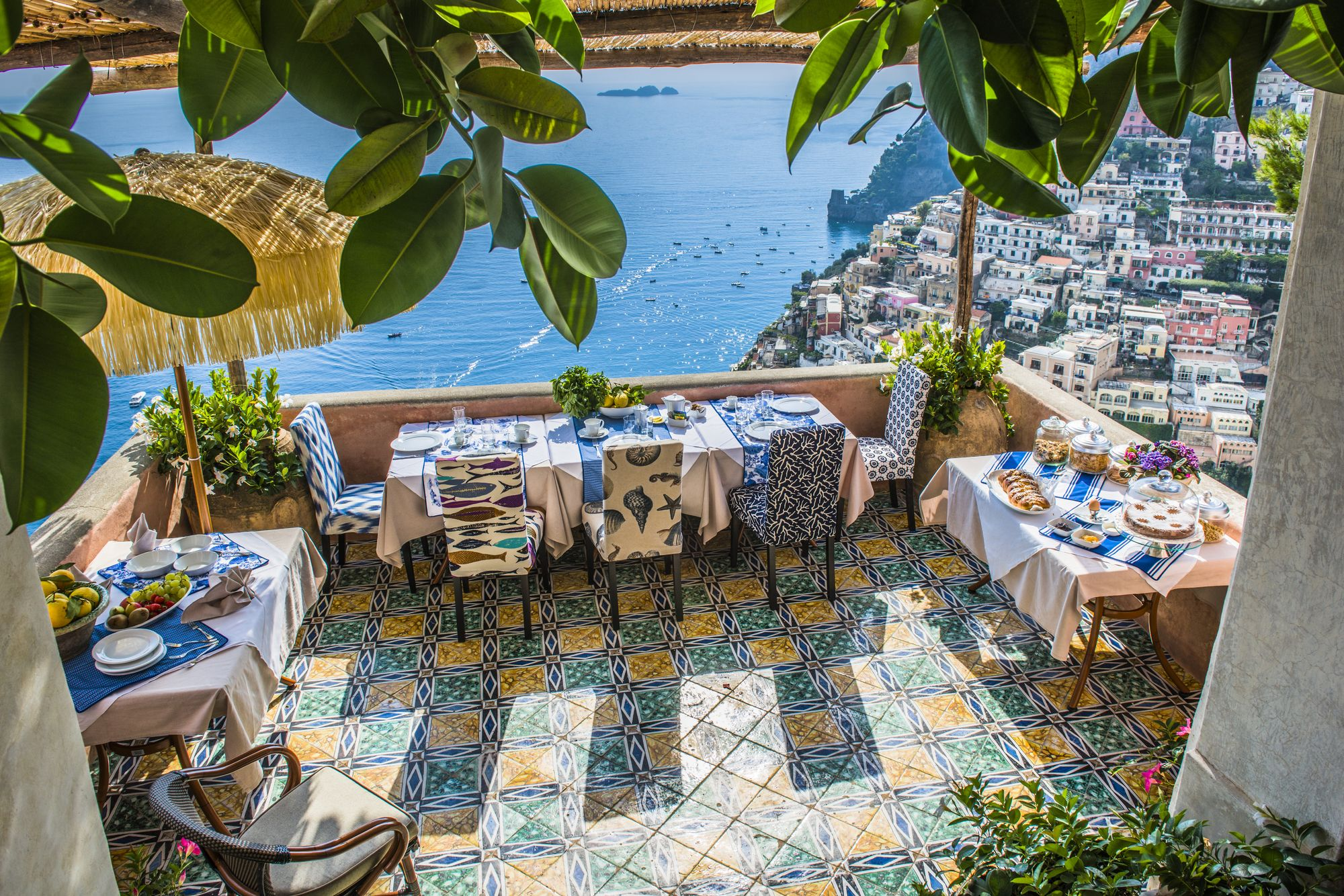 positano amalfi coast luxury villa with private pool, italy