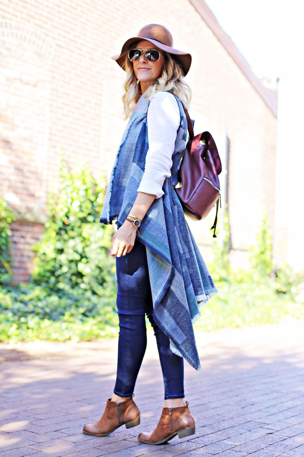 How to wear a sweater vest (Click image for outfit details!) #BigPlans #ad @kohls