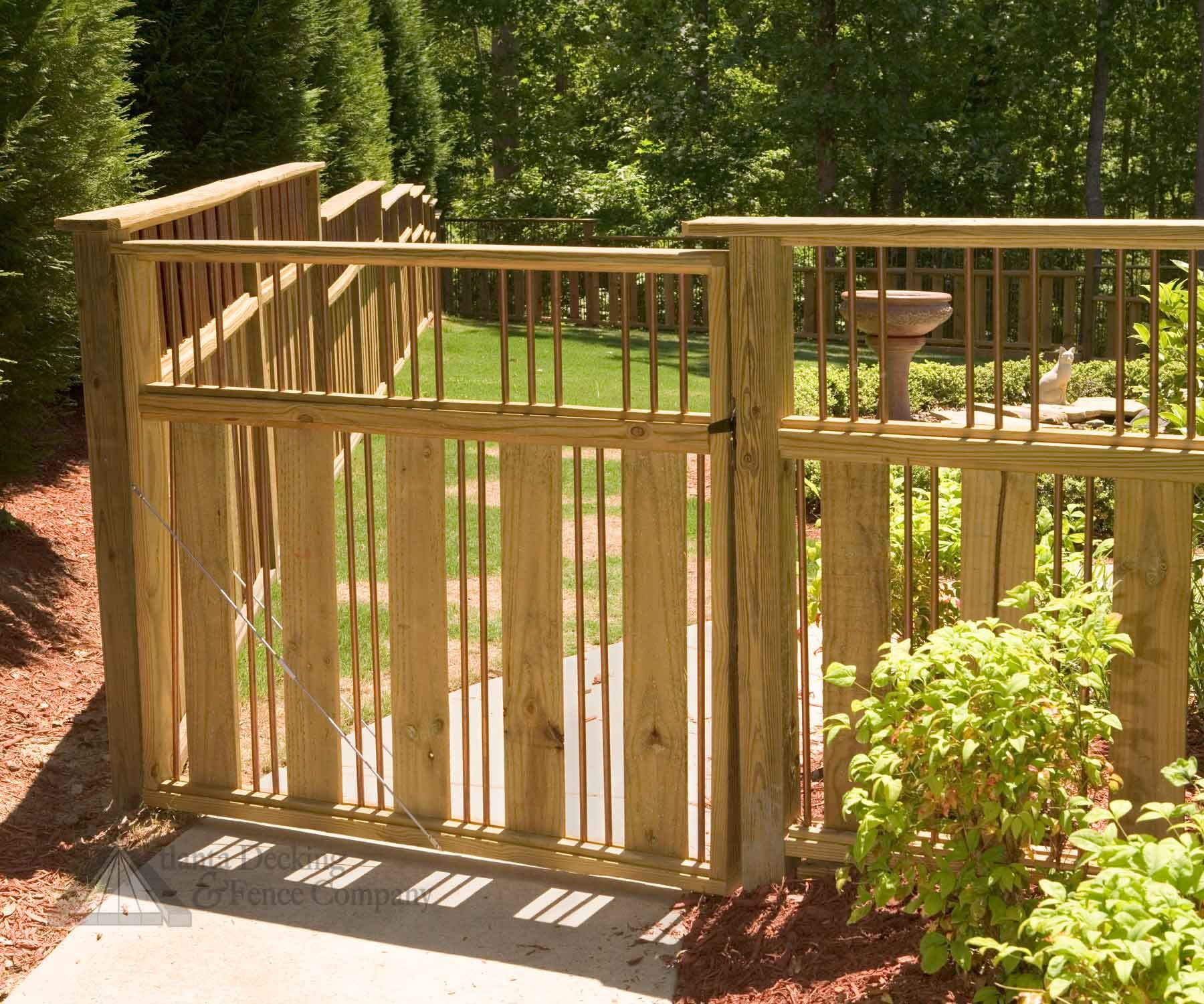 Fence Gate Design Ideas garden decor creative timber wooden driveway gate for your outdoor home decorating design ideas Fence Wooden Gate Designs