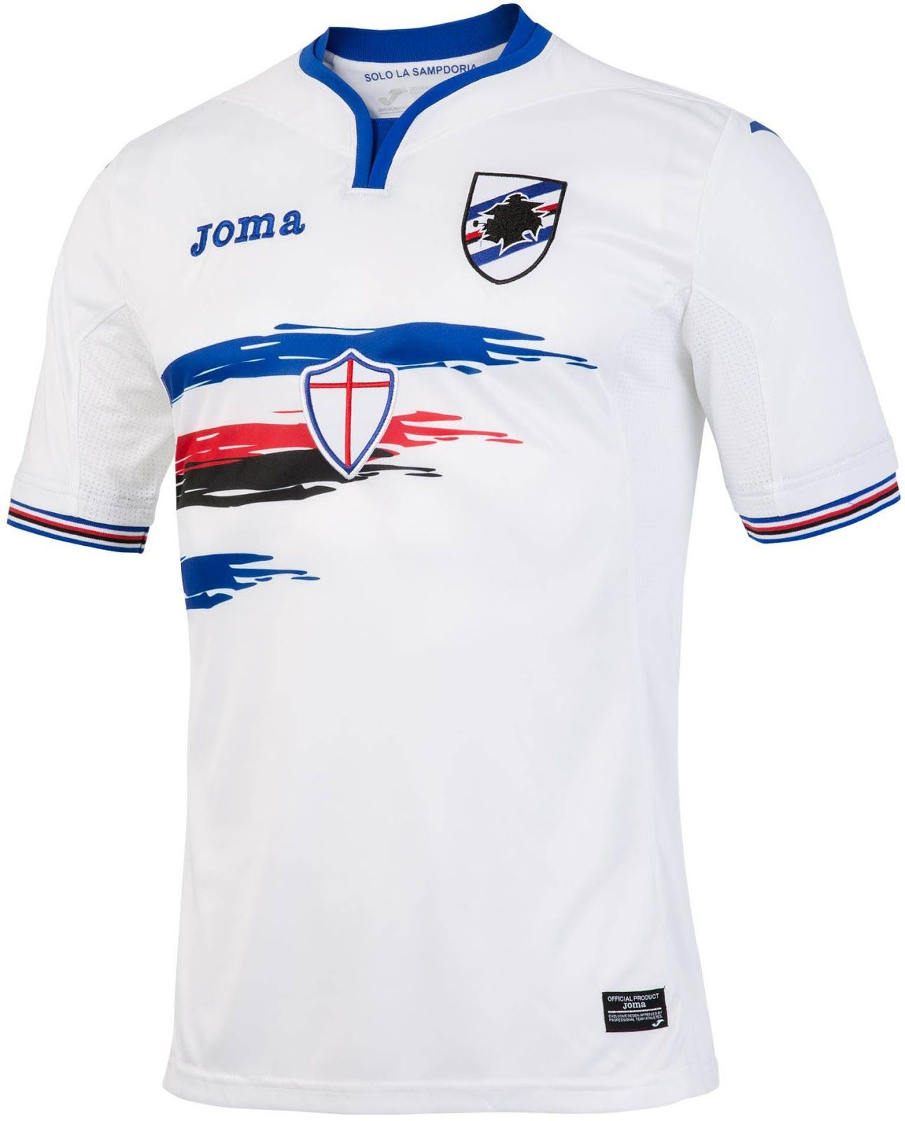 eac7de5b4 Sampdoria 16-17 Home and Away Kits Released - Footy Headlines ...