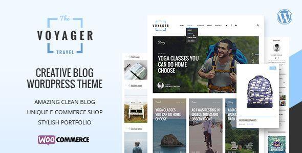 ThemeForest - Voyager — Creative Blog WordPress Theme Free Download ...