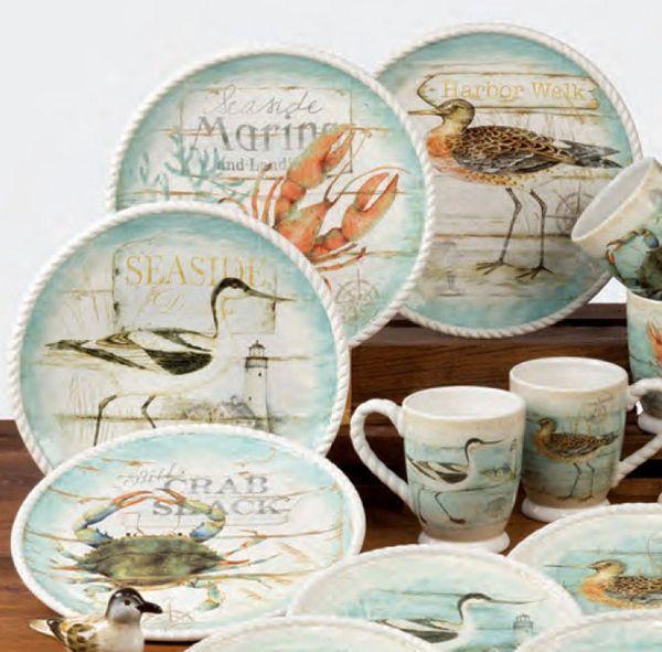 Beach Cottage Dinnerware by Certified International & Beach Cottage Dinnerware by Certified International | Dinnerware ...