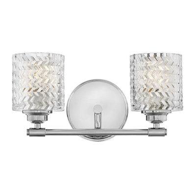 Sensational Zig Zag Vanity Light 2 Light In 2020 Hinkley Lighting Bath Vanity Lighting Vanity Lighting