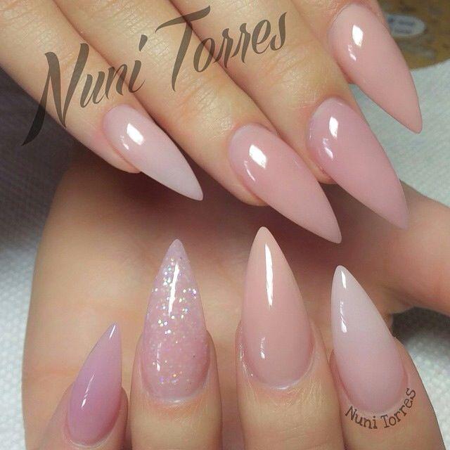 Unhas Stiletto Blog Pitacos E Achados Acesse Light Pink Acrylic Nails Nail Designs Pink Acrylic Nails