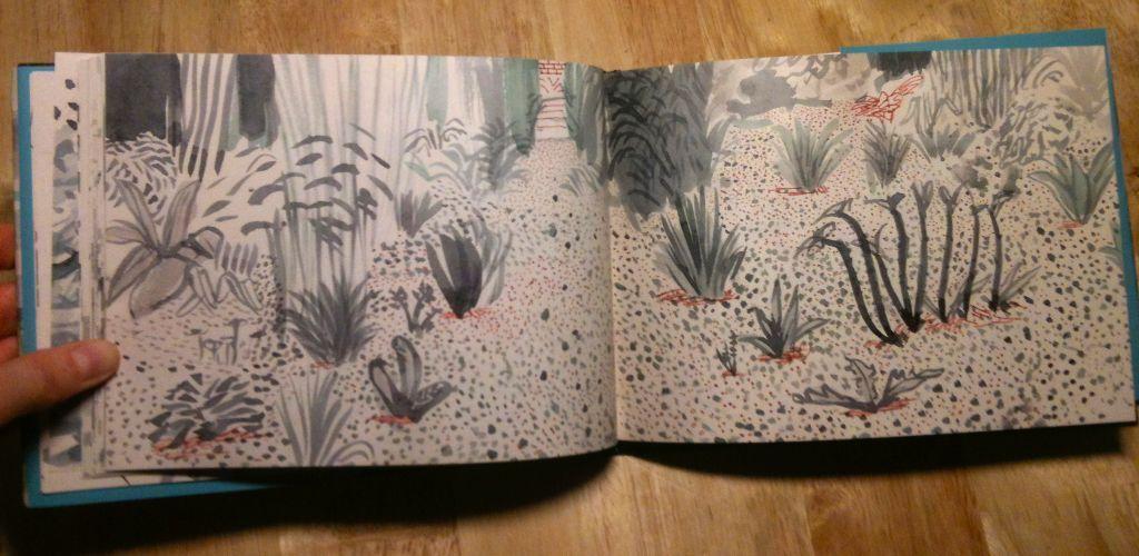 david hockney yorkshire sketchbook