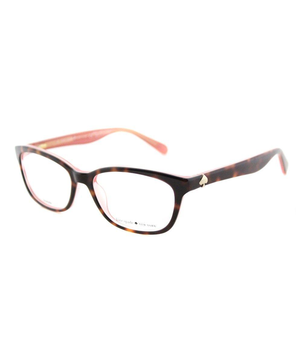 8568473a3f KATE SPADE Brylie Rectangle Plastic Eyeglasses .  katespade  eyeglasses