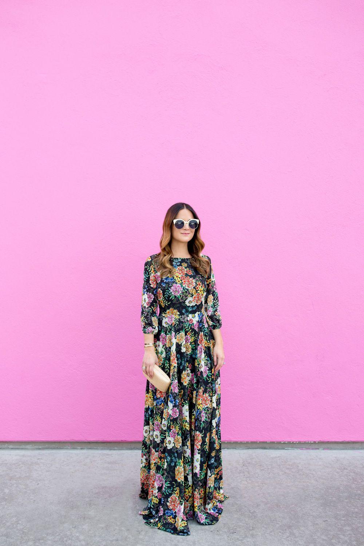 Multicolor Floral Maxi Dress