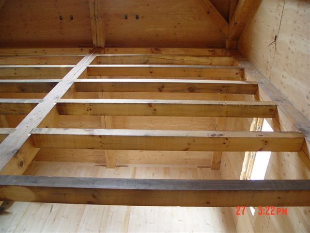 He thought it would take him several WEEKS, but he finished his multi-story floor system in just 3 DAYS. Description from timbertools.com. I searched for this on bing.com/images