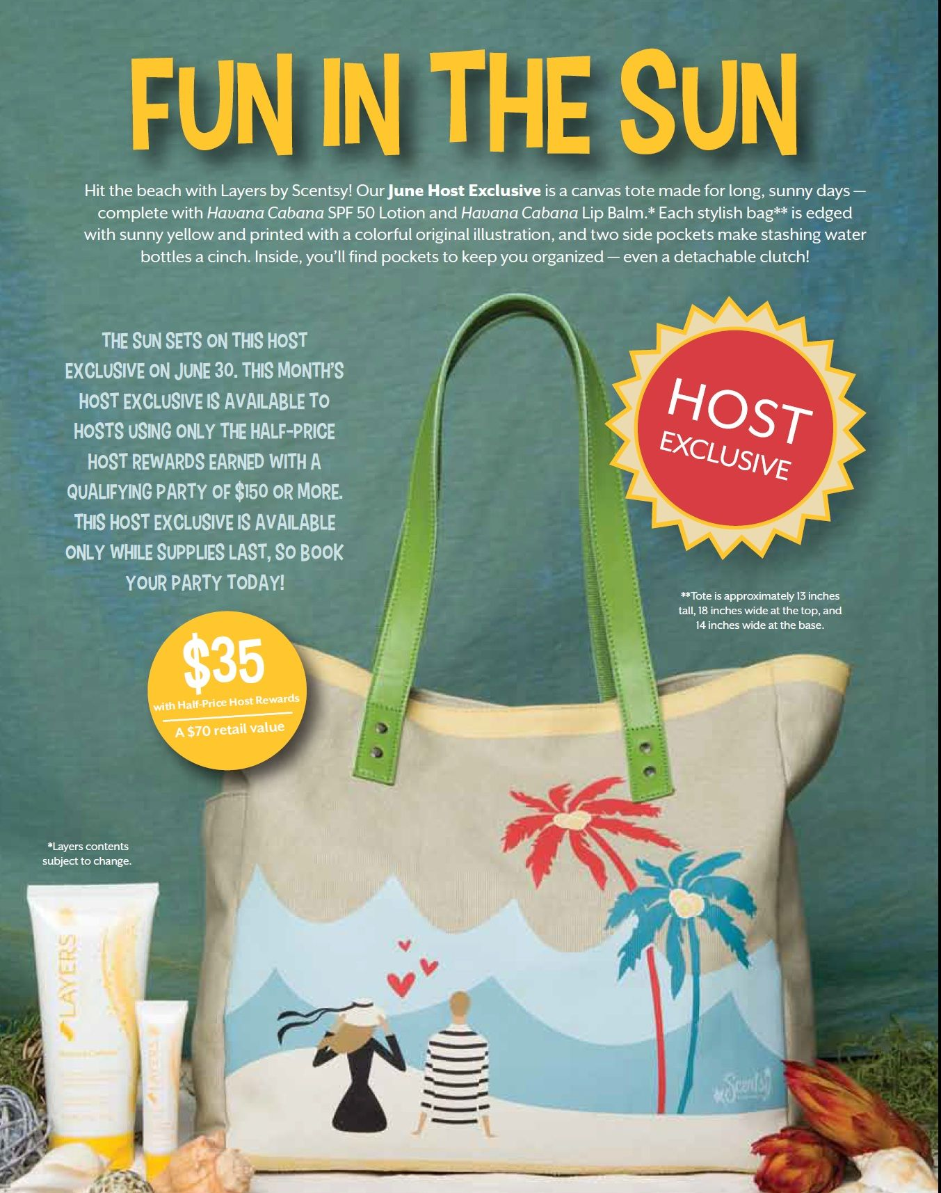 Scentsy's June Host Special