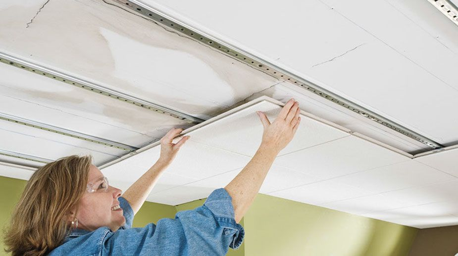 Easy Up Ceiling Installation System Dropped Ceiling Ceiling Ceiling Installation