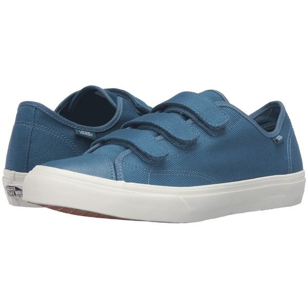 7b5fc20b420 Vans Style 23 V ((Twill) Blues Ashes Blanc de Blanc) Skate Shoes featuring  polyvore