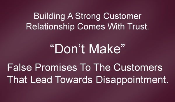 Building A Strong Customer Relationship Comes With Trust
