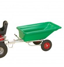 Professionally styled large trailer suited to most garden tractors. Shares its great body with th...