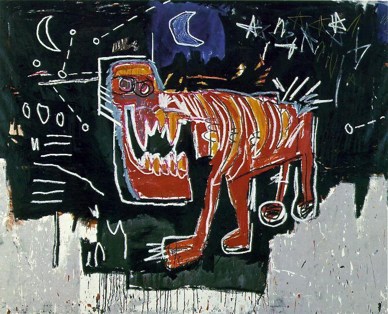 Jean Michel Basquiat - Dog
