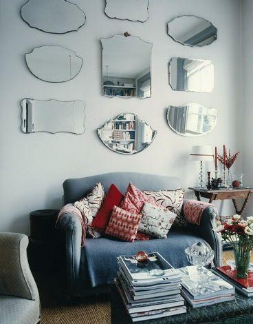 Accessories Random Mirrors Remodelista Vintage Mirror Wall