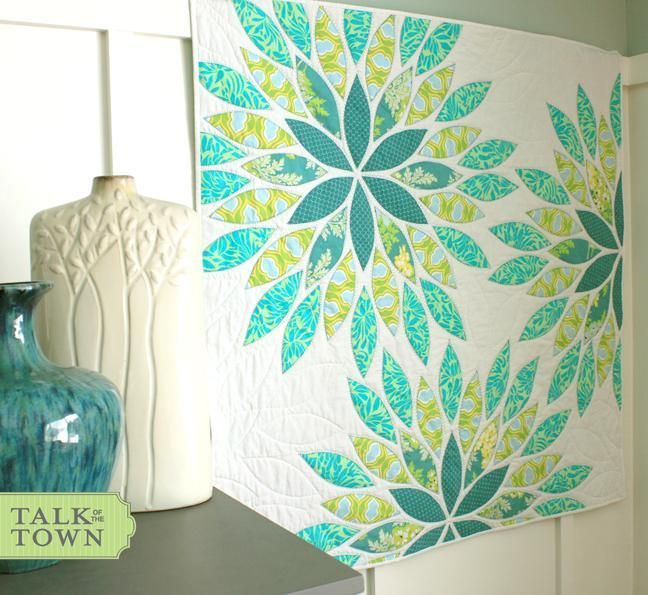 Quilting Fundamentals: Quilt-As-You-Go Basics   Simple bed, Glass ... : easy applique quilts - Adamdwight.com