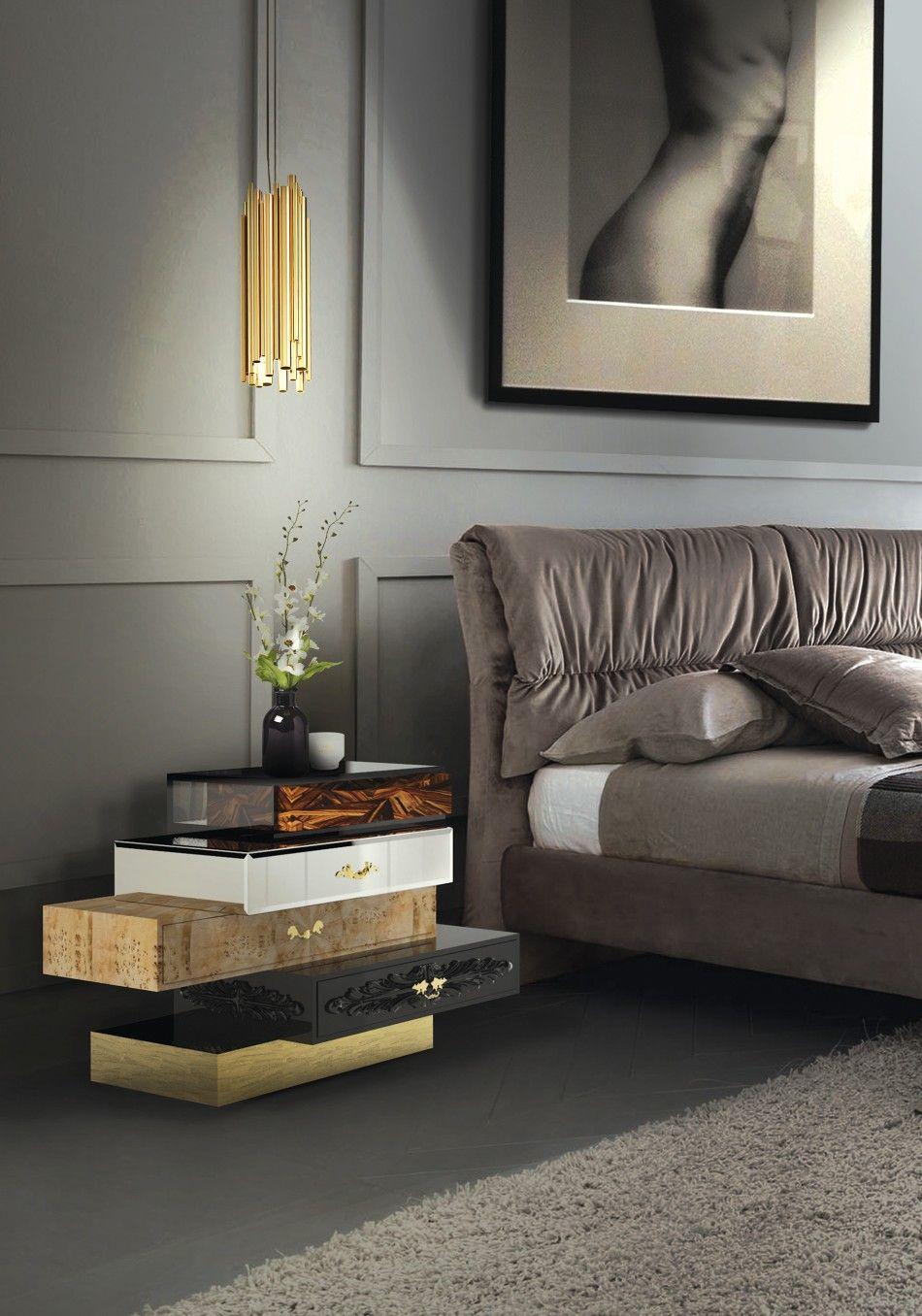 Innenarchitektur luxus  10 Interessante Alternativen zu Ihrem Bett Beistelltisch ...