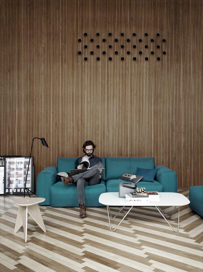 Harcourt Terrace / Boyd Cody  MATERIAL  Pinterest  거실, 건축 및 디자인
