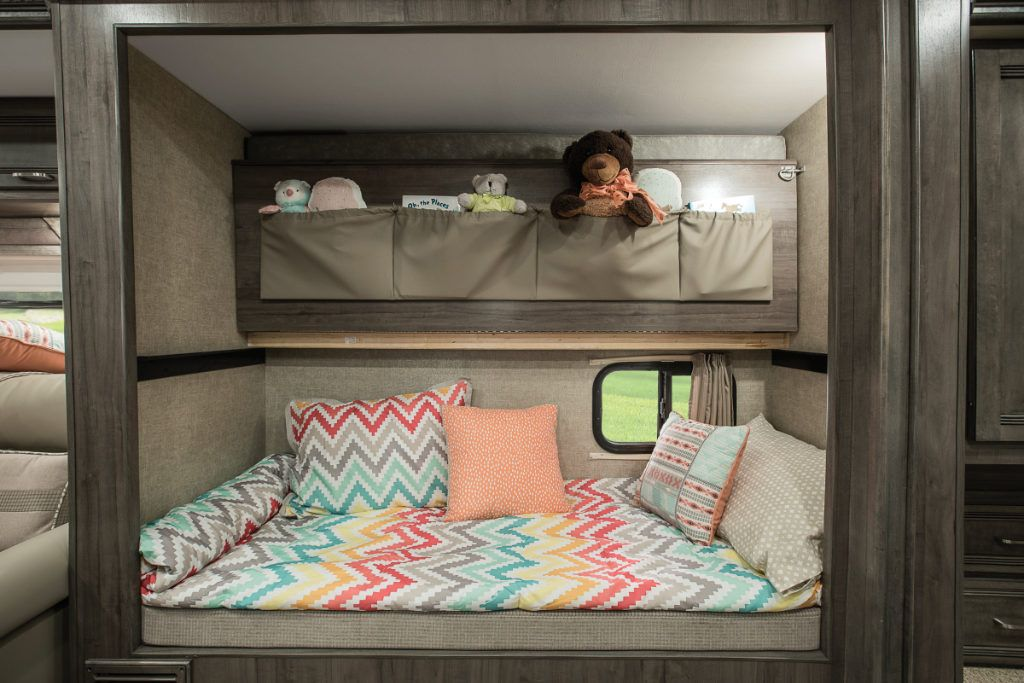 5 MustSee RV Bunkhouse Floorplans Rv bunk beds, Camper