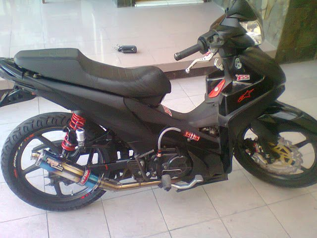 Modifikasi Motor Absolut Revo Road Race Blog Motor Keren