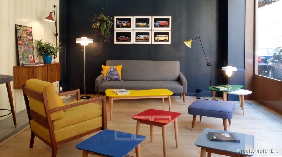Fabricant et éditeur de mobilier d'inspiration fifties depuis seulement 5 ans, Kann design s'appuie sur le savoir-faire de l'atelier familial de son jeune fondateur, Houssam Kanaan, associé à son épouse, Meghedi Simonian et un ami de longue date, Rudy Bou Chebel.