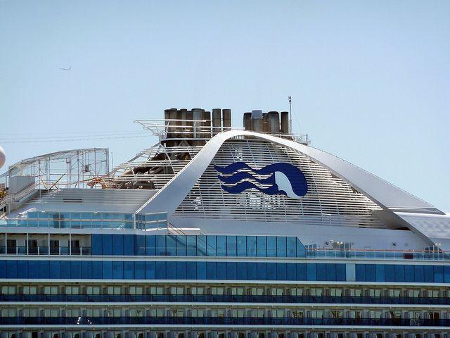 Princess Cruise Ship Docked At San Francisco Harbor May - Cruise ships from san francisco