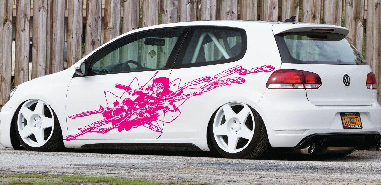 Anime Car Decal Car Decal Car Sticker Anime Sticker Anime - Car anime stickers