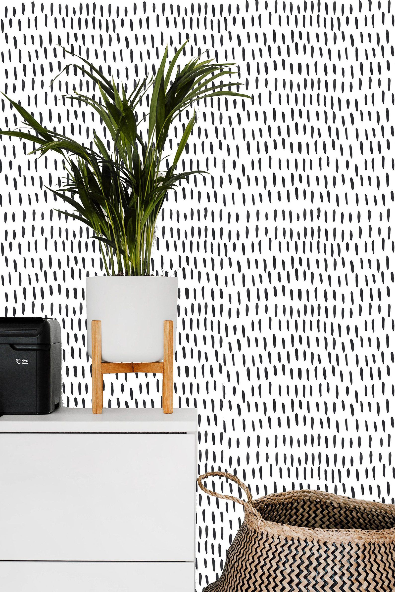 Removable Wallpaper Mural Peel Stick Self Adhesive Wallpaper Etsy Black And White Wallpaper Home Decor Wallpaper Accent Wall