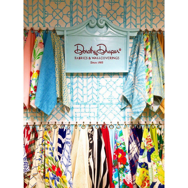 Dorothy Draper Fabrics Bamboo trellis FABRIC Pinterest