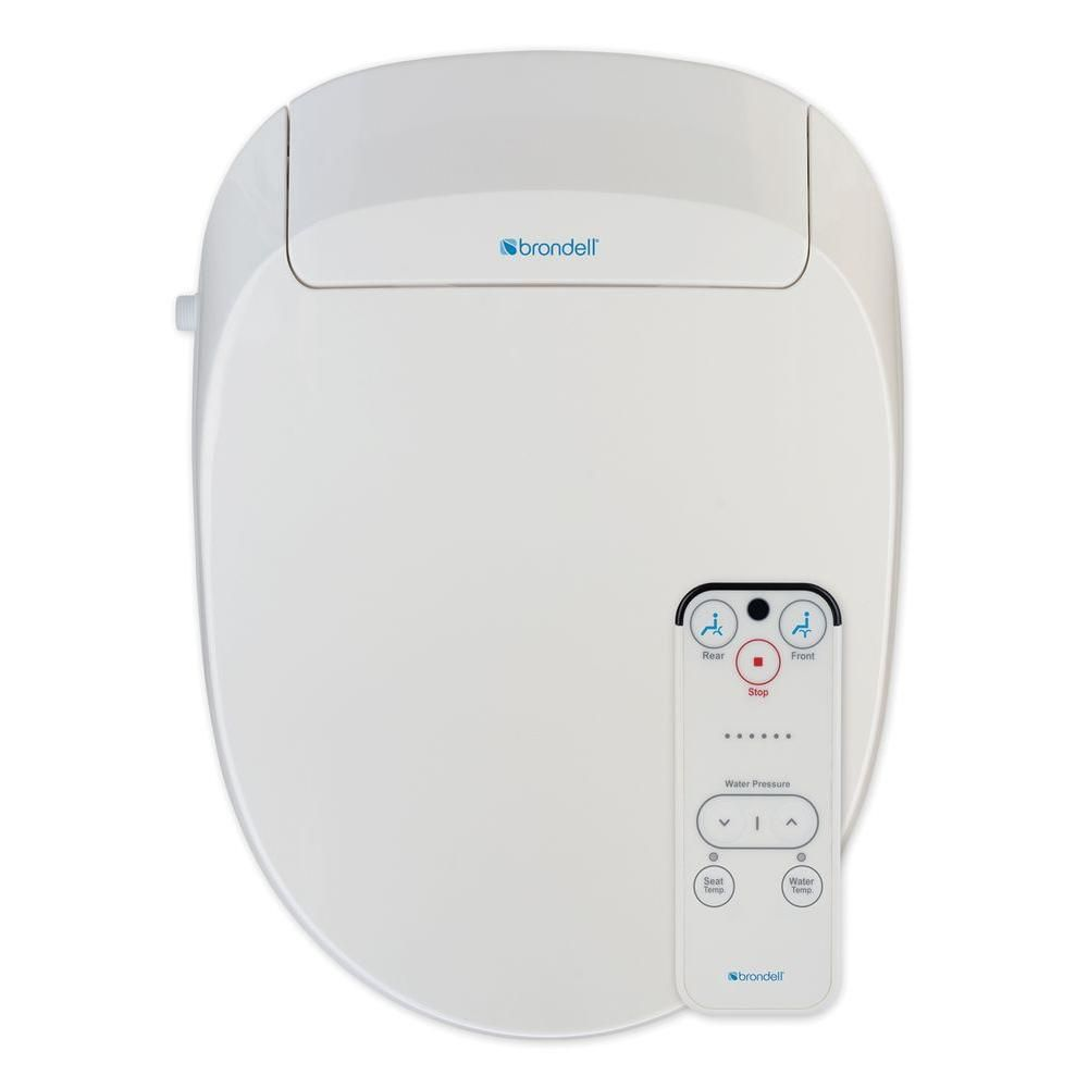 Admirable Brondell Swash 300 Advanced Bidet Seat For Elongated Toilet Caraccident5 Cool Chair Designs And Ideas Caraccident5Info