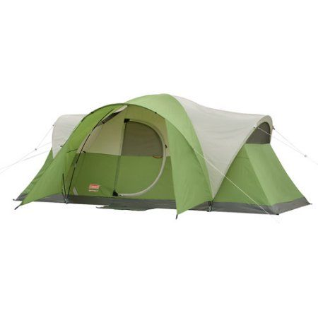 Coleman Montana 8 Person Dome Tent Walmart Com Coleman Tent Family Tent Camping 8 Person Tent