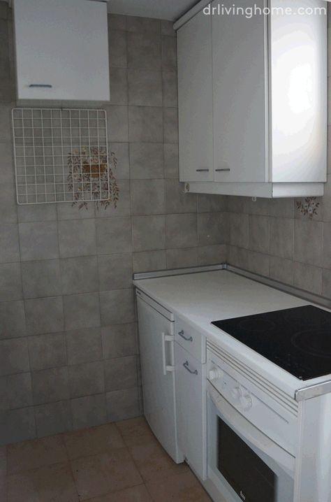 Renovar la cocina sin obras II: cómo tapar azulejos paso a paso ...