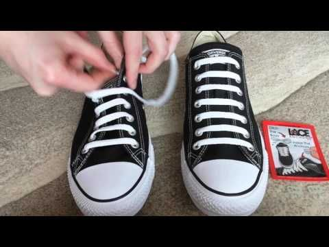 How To Bar Lace Converse - YouTube  a3f536c8e