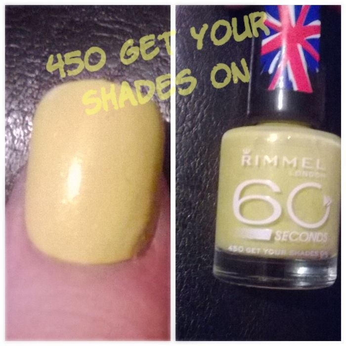 Rimmel 60 seconds in Get your shades on