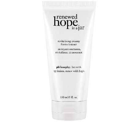 Philosophy Renewed Hope In A Jar Cleanser Qvc Com Face Wash Cleanser Foaming Face Wash Skin Care Cleanser