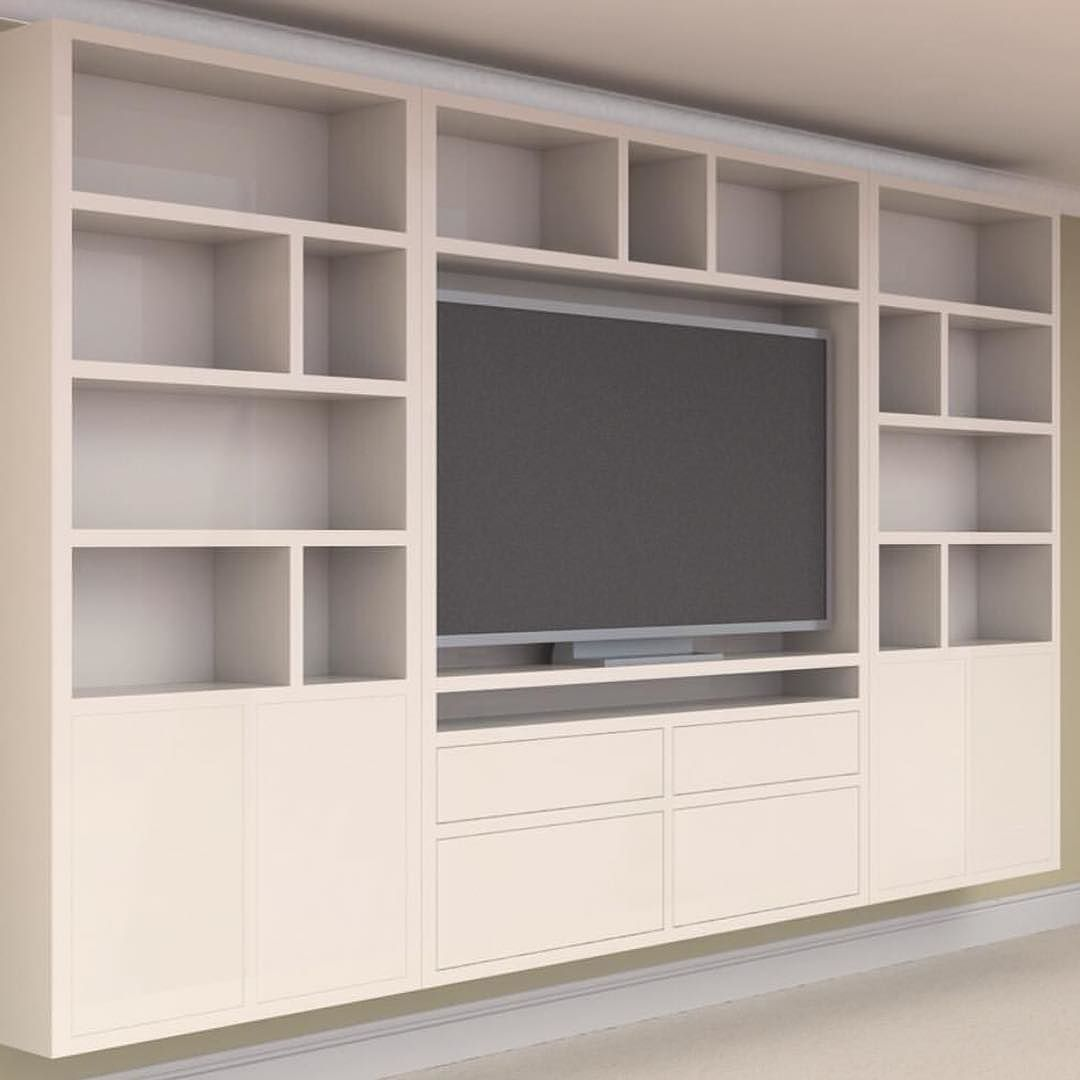 approved_interiors have created this stunning tv wall unit for a ...