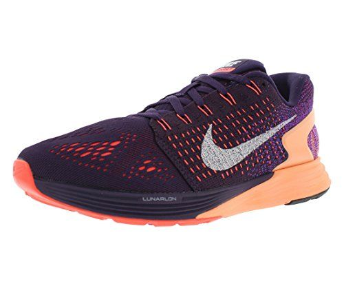 info for 179ee 486f8 ... ireland nike womens lunarglide 7 running shoe grand purple sunset glow  hot lava white ff5f7 c83f7