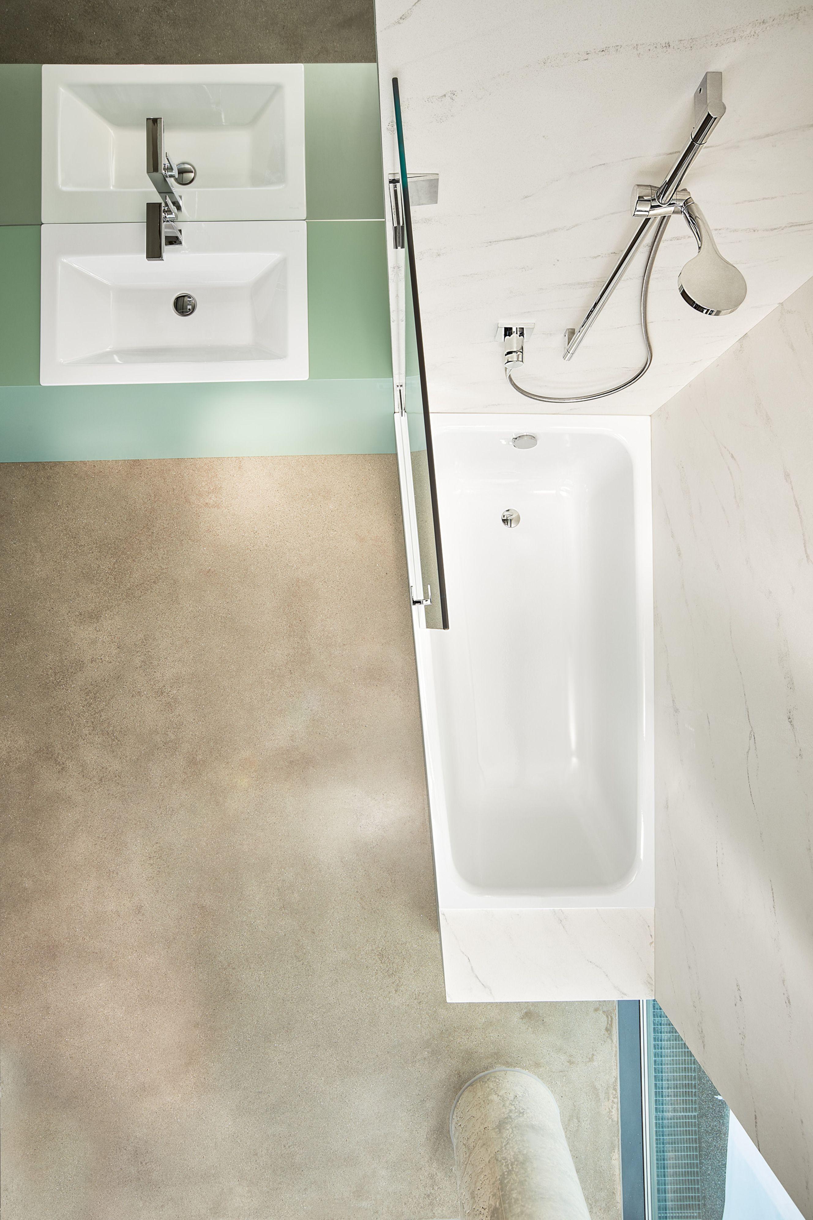 Raumsparwanne #Bade-Dusch-Kombination #Badewanne #Wanne #Rund ...