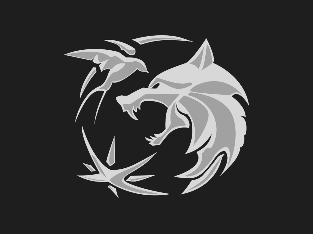 The Witcher Netflix Logo Fan Art The Witcher Witcher Art Logo Fans