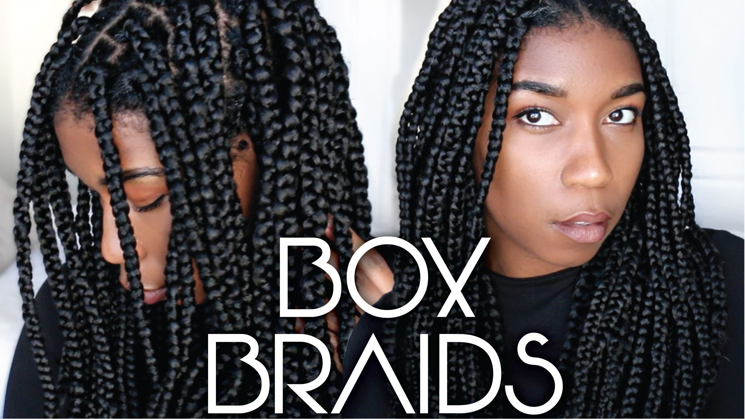 How to install box braids protective style easy technique and step
